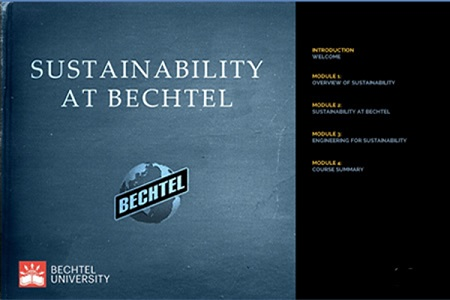 Bechtel: Sustainability at Bechtel