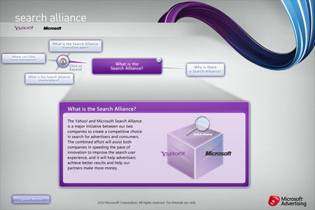 Microsoft/Yahoo!: Search Alliance Overview